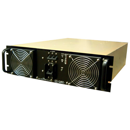 3U 3 KVA Militarized Rack Mount UPS with Battery Drawers