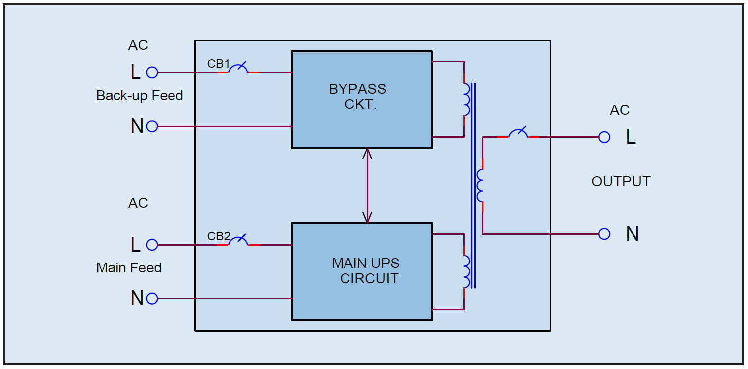 Electrical Circuit Diagram Ups