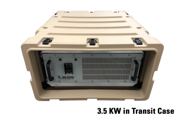 NGL Series 3.5 KW DC-AC Inverter in Rugged Transit Case